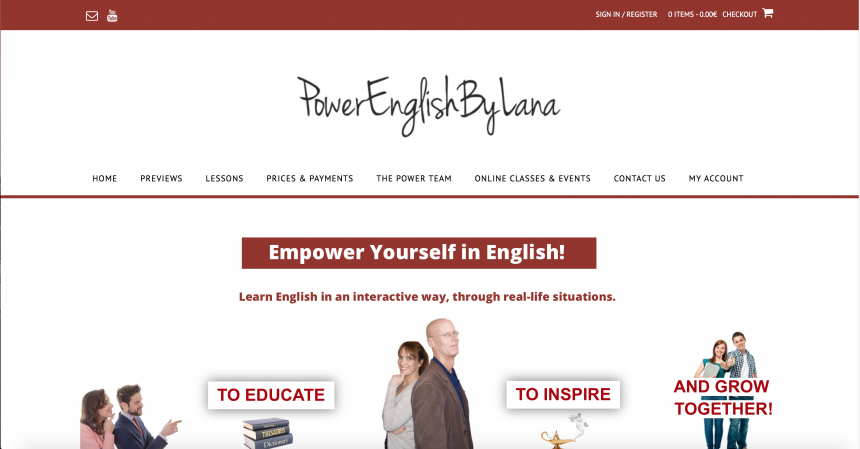 Project power english tihanafulir for this large project we created a beautiful platform for online learning and brand logo and of course we edit videos and audios material as well as solutioingenieria Choice Image