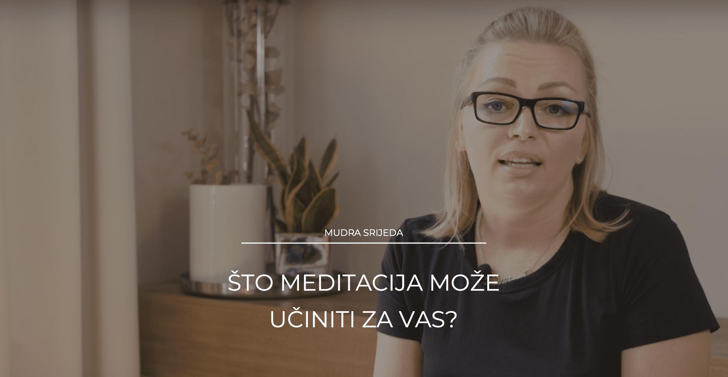 Što meditacija može učiniti za vas?